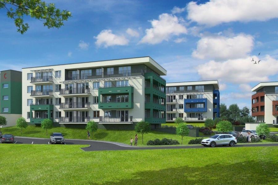 nowe osiedle mieszkan - Nowa Huta w Krakowie